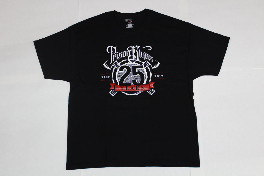 Prison Blues Twenty-Fifth Anniversary T-Shirt