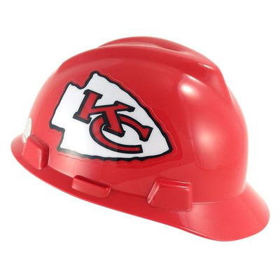 MSA V-Gard LIcensed NFL Hard Hats