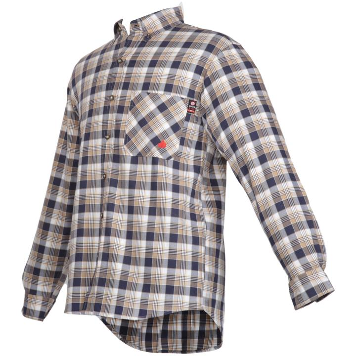 Red Forge FR Plaid Button Down Work Shirt