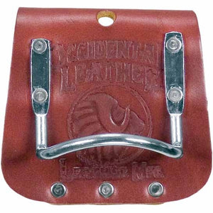 Occidental Part # 5059        Made of the highest quality Belting Leather, this hammer holder is com0pact and very comfortable.