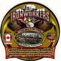 """Ironworker's Prayer"" Tool Box Sticker #BW-TB-IP"