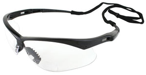 Nemesis RX Clear Bifocal Reader Safety Glasses