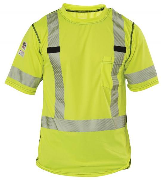 Big Bill Polartec Power Dry Hi-Vis Pocket T-Shirt