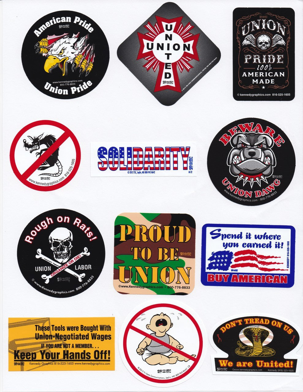 HardHat Sticker Mix 02