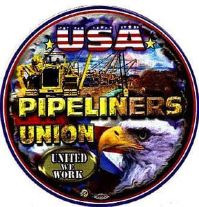 Pipeliner Premium HardHat Sticker