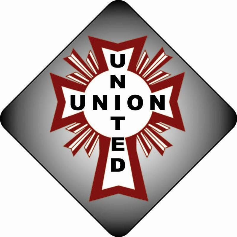 United Union Hardhat Sticker