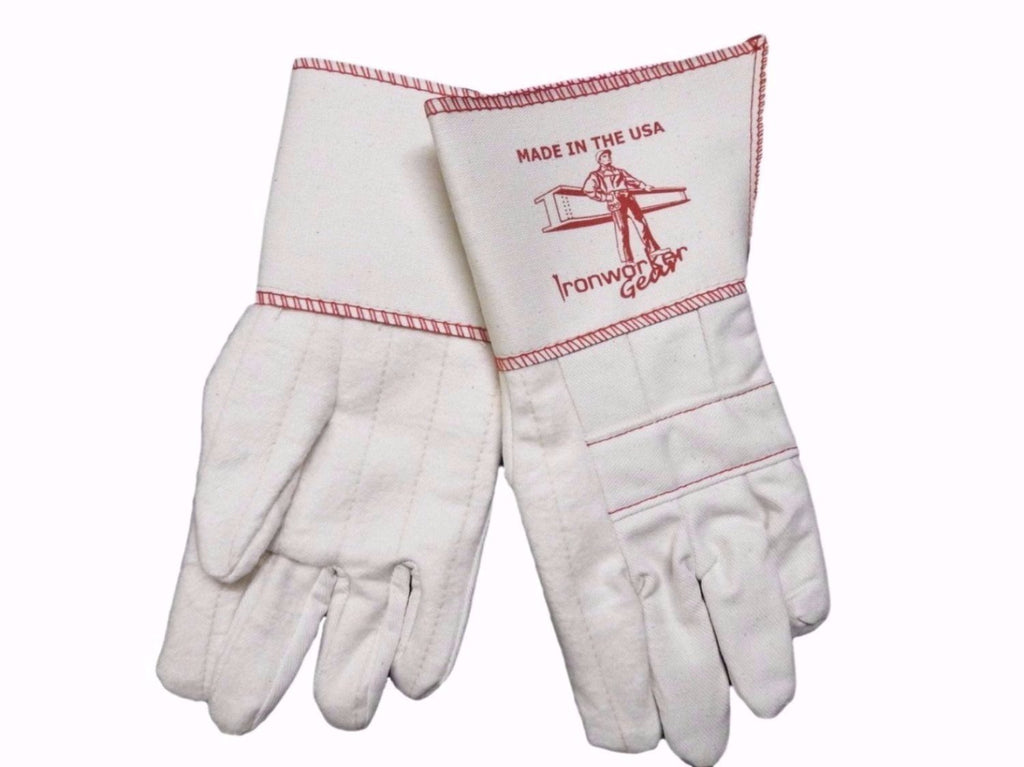 IRONWORKERGEAR 'IronOx' Long Cuff Rigging Gloves