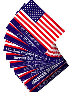 Large Flag Stickers - OUR CHOICE
