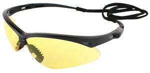 Nemesis Amber Safety Glasses #25659