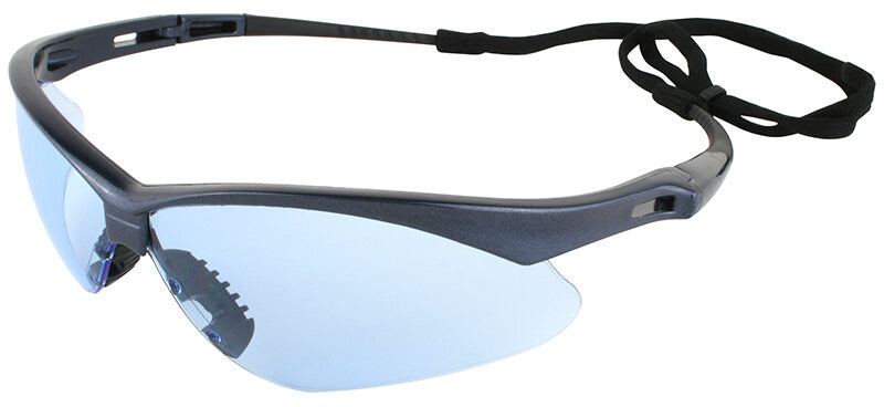 Nemesis Light Blue Safety Glasses #19639