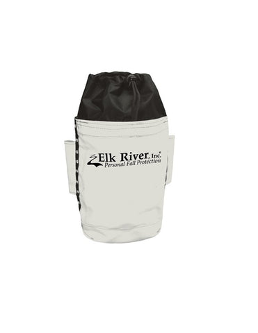 Elk River Deep Bolt Bag In Natural With Drawstrings And Belt Tunnel Loop #84522