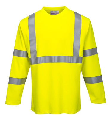 Portwest FR Hi-Vis Long Sleeve T-Shirt FR96