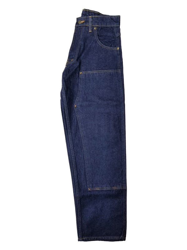 Prison Blues Rinsed Blue Double Knee Work Jean