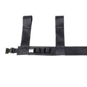 Hintze Part #WR-BELT  The original Hintze Belt is especially designed to hold reels of wire. This utility belt conveniently straps to your thigh, taking the load off of your hips and keeping your tools from getting in the way of your arms.