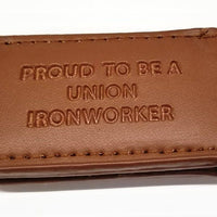 'Proud to be a Union Ironworker' Magnetic Money Clip #PTB-MMC