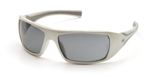 Pyramex Goliath White Gray Lens Safety Glasses #SW5620D