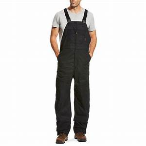 Ariat Men's FR Overall 2.0 Insulated Bib Field Black #10023457