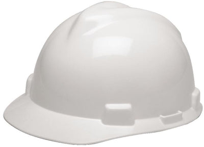 MSA V-Gard Hard Hat Cap with Fas-Trac III Ratchet