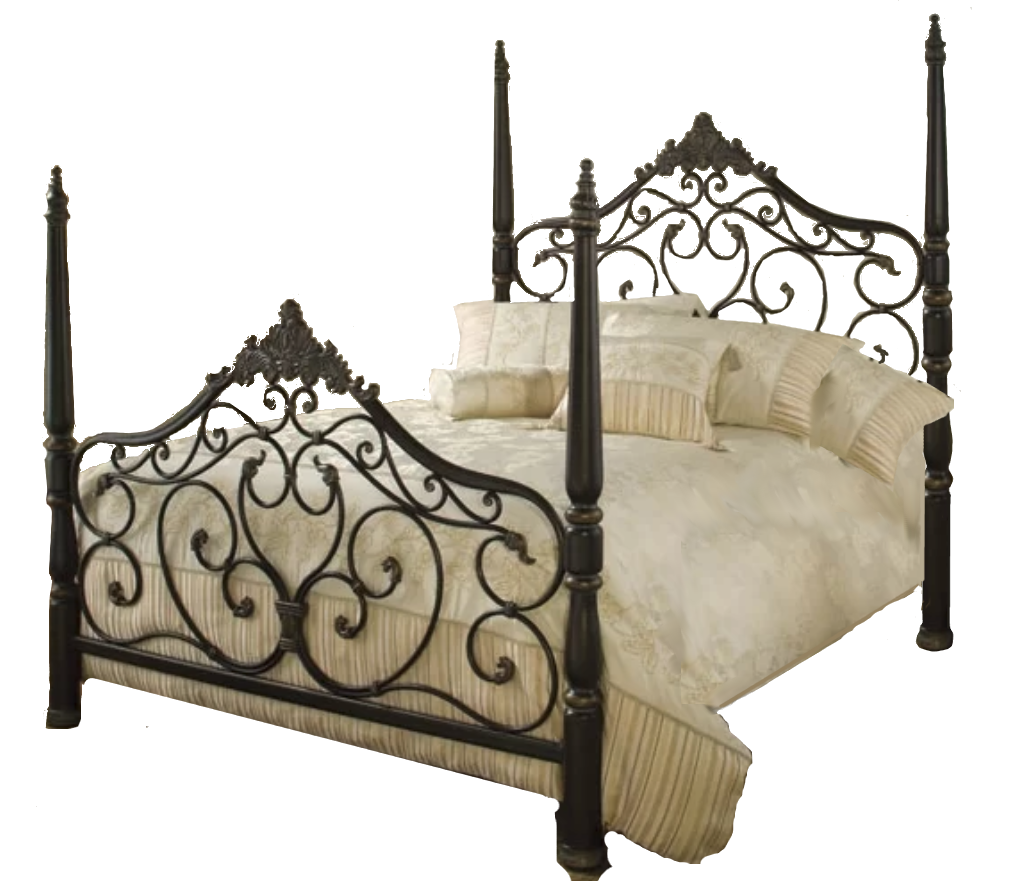 Parkwood King Metal Bed Set