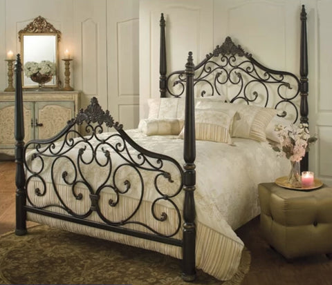 Beds - Parkwood King Metal Bed Set