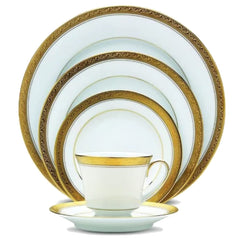 Fine China - Crestwood Gold By Noritake - 20 Piece Service For 4