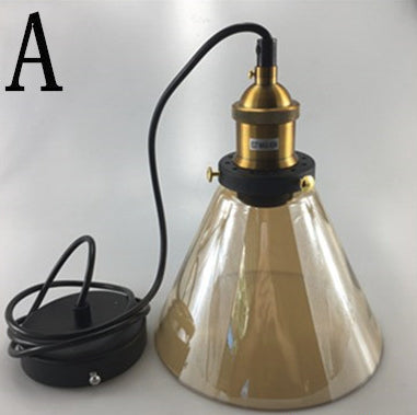 Luminaire Pendant Light For Home Or Business - Available In Translucent, Amber Or Smokey Gray