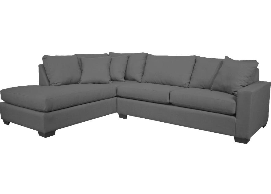 Sofas - Chaise & Corner Unit Sectional -Available 3 Colors