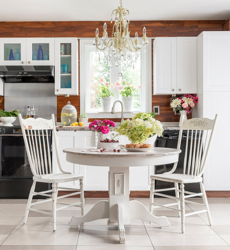 White Farmhouse table - Homestead House Milk Paint