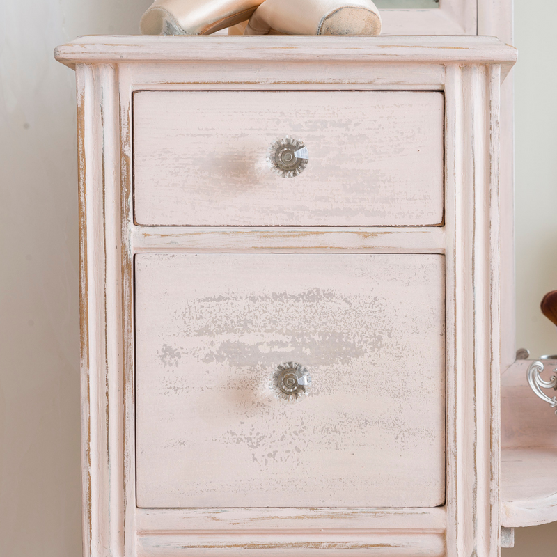 Custom Blend of Texas Rose & Limestone Milk Paint