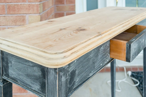 Sanded table top - Homestead House paint company