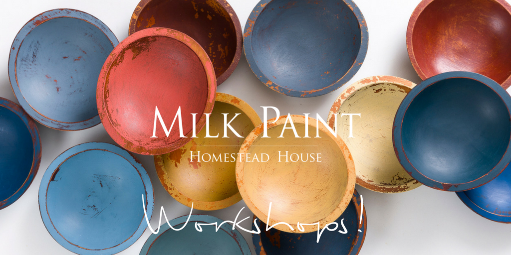 Workshops using Homestead House Milk Paint.  | homesteadhouse.ca