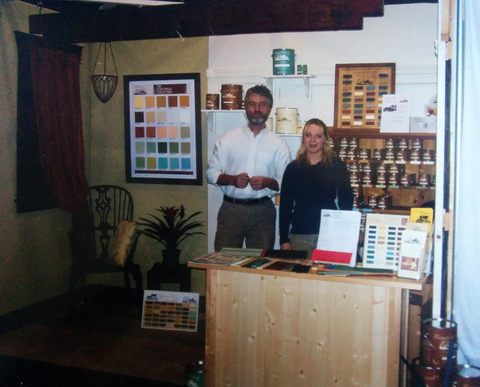 Jennylyn Pringle president of Fusion Mineral Paint  Scott Wallace co-founder of Homestead house Paint company