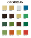 GEORGIAN Colour Collection from Homestead House Paint Co.   |  homesteadhouse.ca
