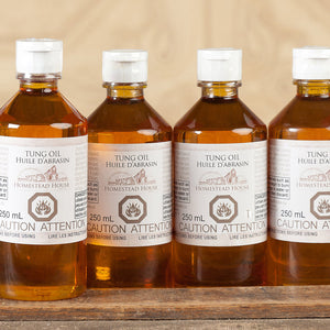 Tung Oil form Homestead House.  | homesteadhouse.ca