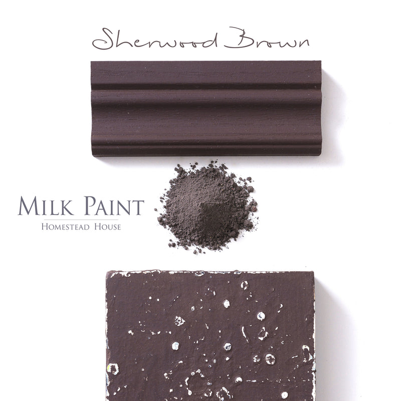 Sherwood Brown - MILK PAINT STAIN
