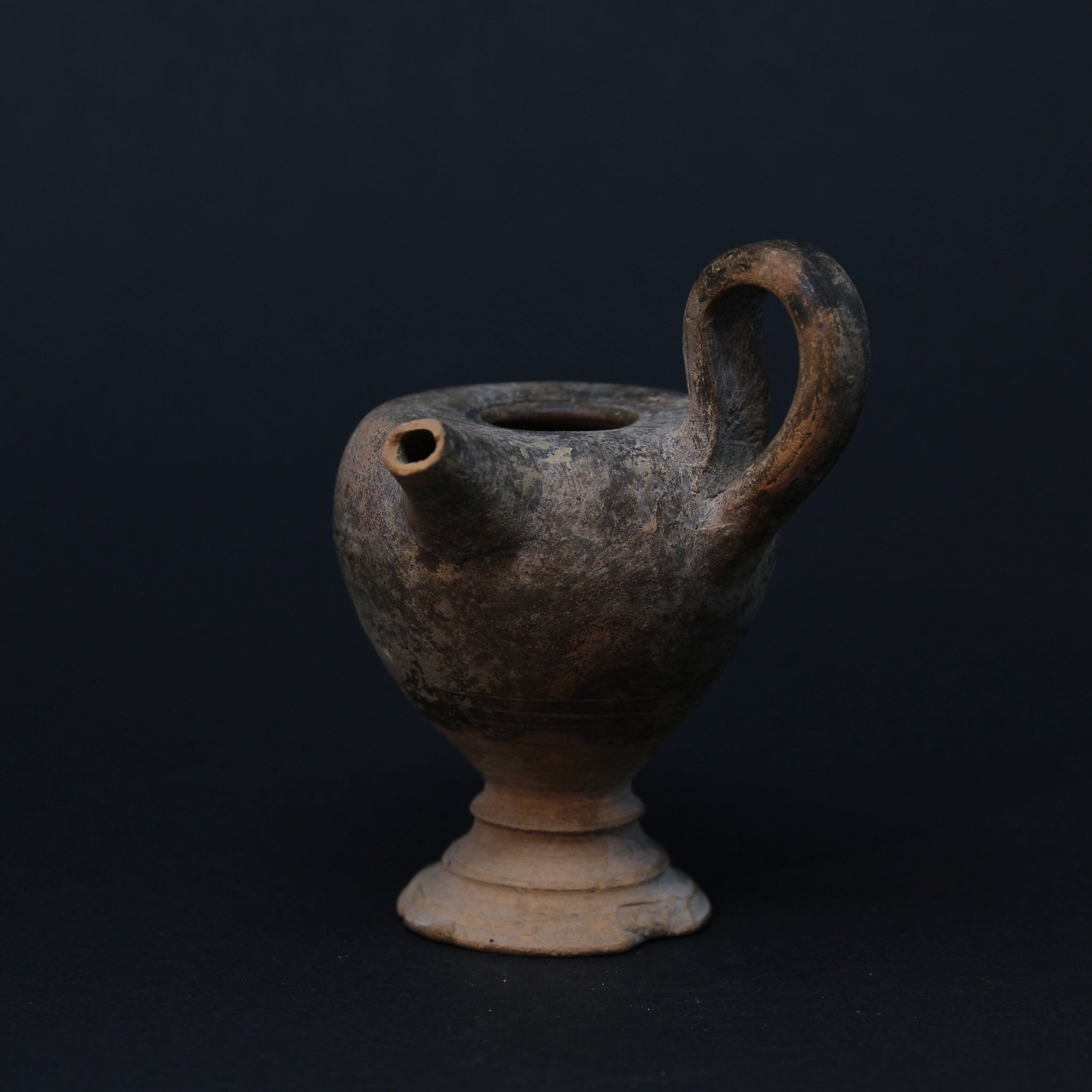 A Classical Oil Lamp Filler | Roman or Greek c. 4th Century BC - 1st Century AD