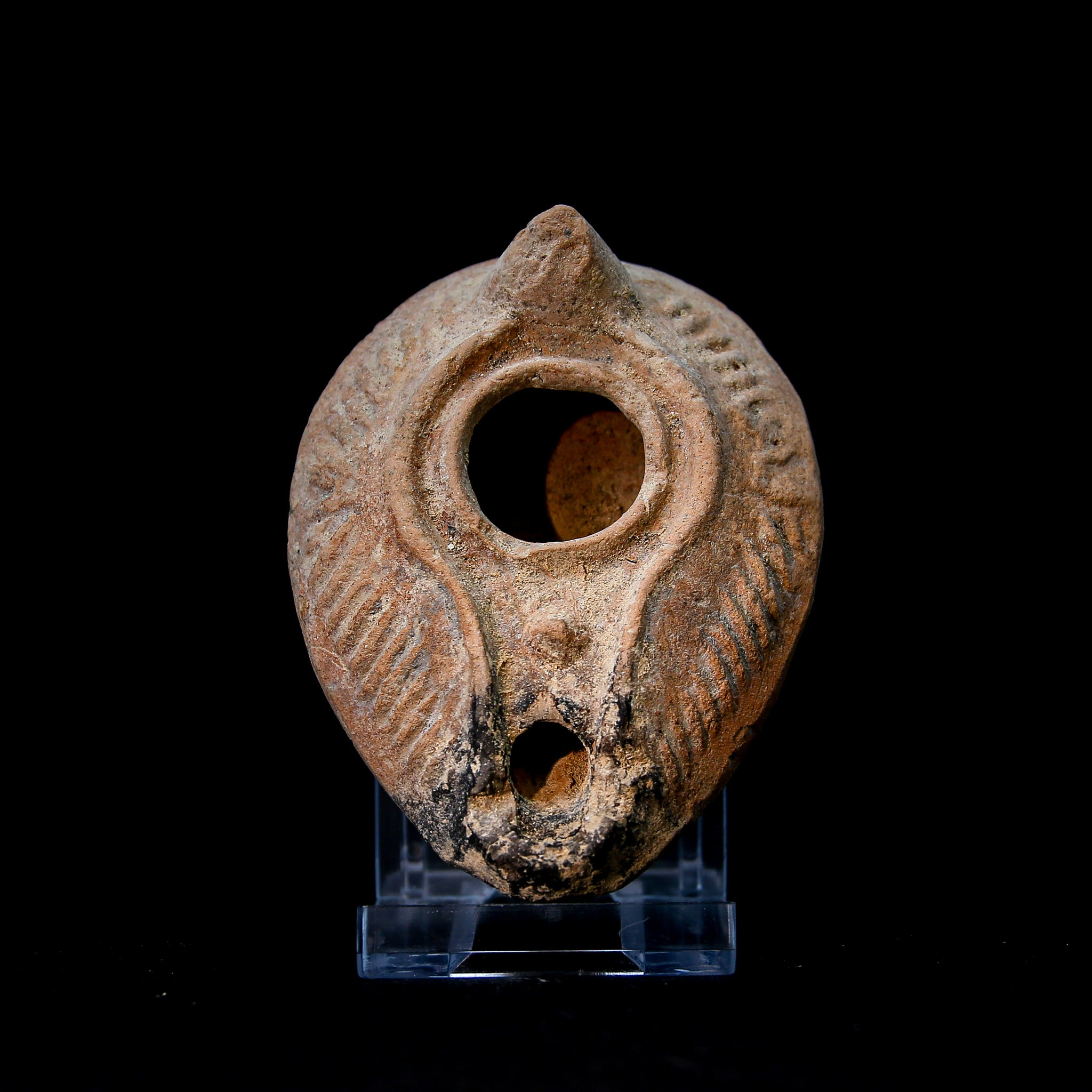 A BYZANTINE OIL LAMP | CIRCA 5TH–8TH CENTURY AD