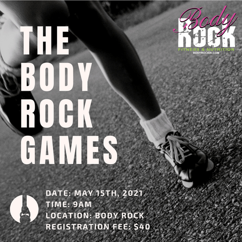 Body Rock Games Participant Registration
