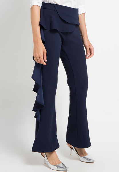 Flared Side Maxi Pants