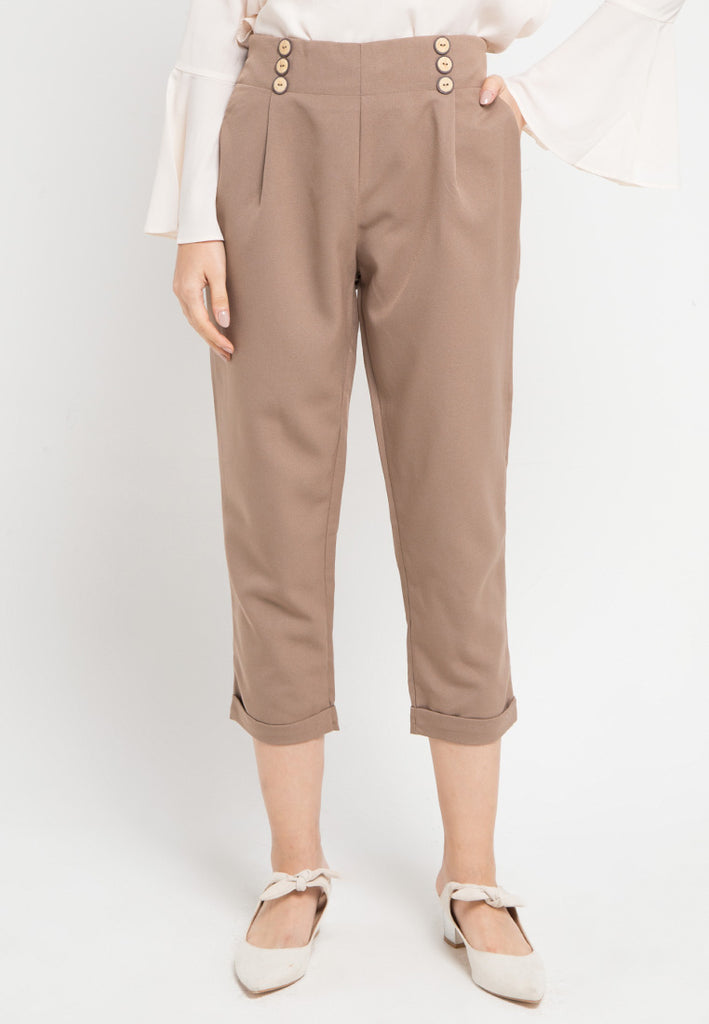 Military Straight Pants