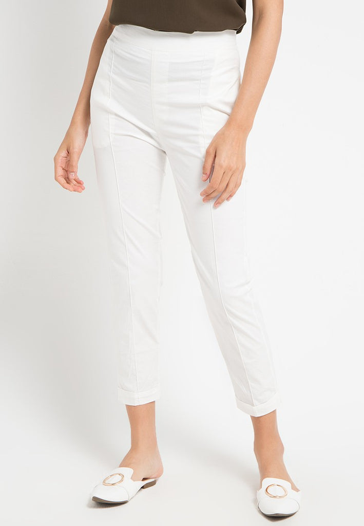Linen Straight Fit Pants