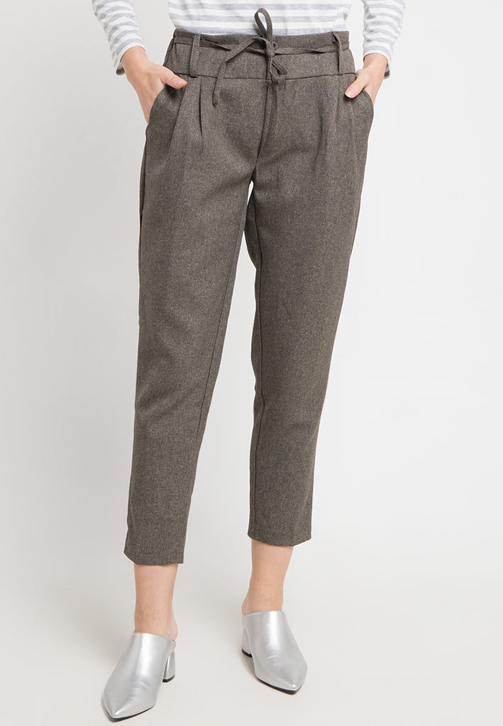 Double Button Tapered Pants