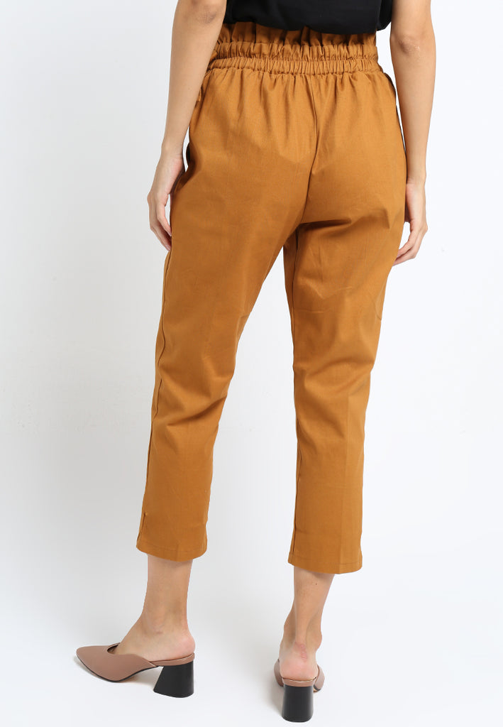 Side Bow Straight Pants, Pants, Meitavi's