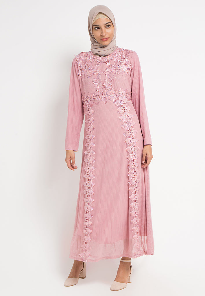 Lily Brocade Gamis Dress, Gamis, Meitavi's