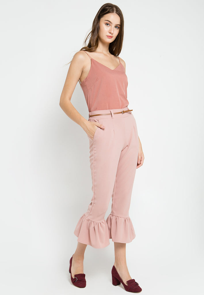 Bell Cropped Pants
