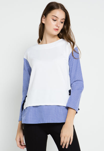Sweater Striped Top