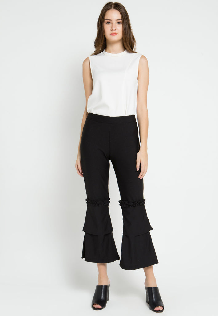 Layered Flared Pants