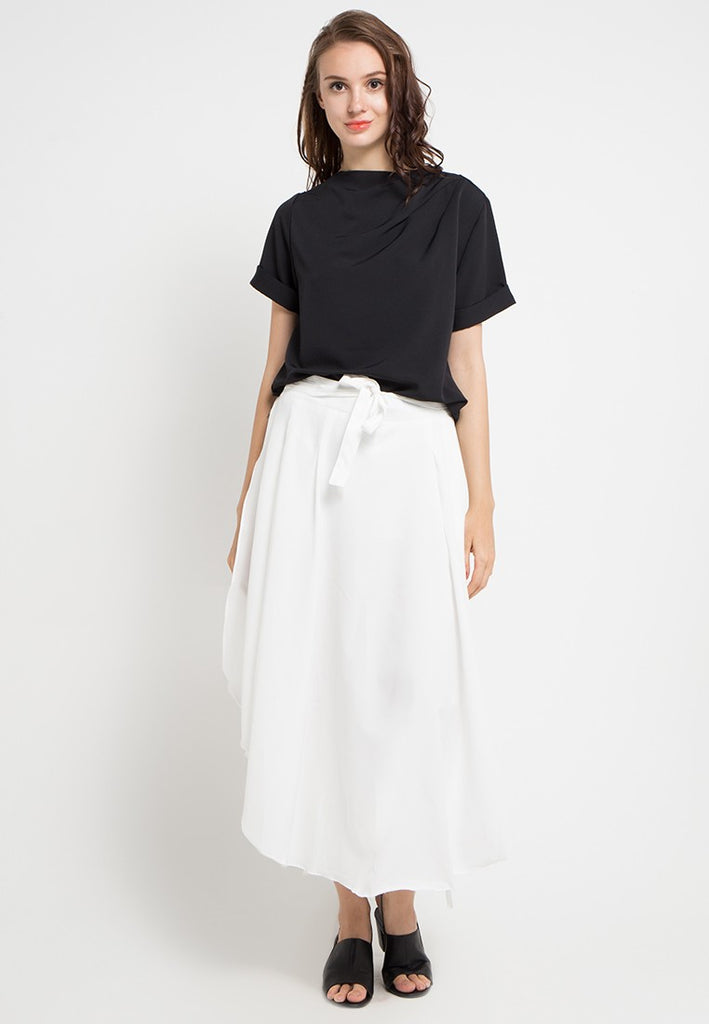 Wide Pants Skirt, Pants, Meitavi's