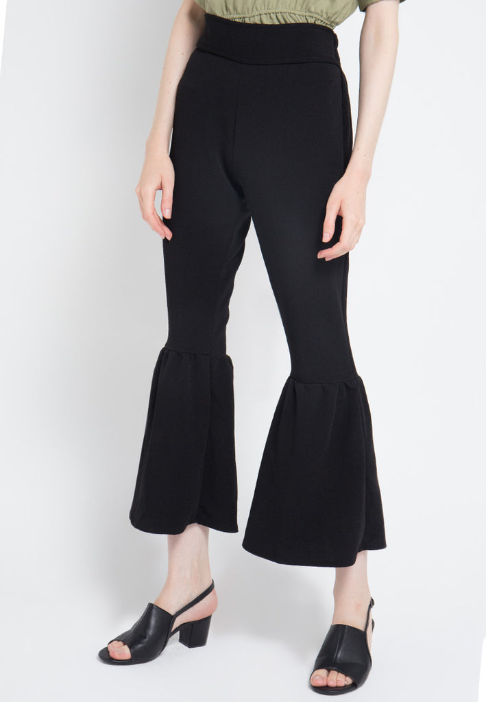 Ruffled Bottom Pants, Pants, Meitavi's