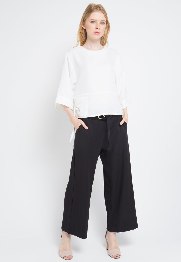 Woven Cropped Top, Tops, Meitavi's